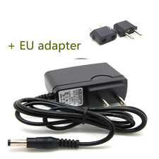 EU plug 9V 1A WALL Charger Adapter 5.5mm*2.1mm for Tablet PC MID aPad ePad PAD G