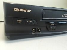 Used QUASERVHQ 40m VCR VHS VIDEO CASSETTE PLAYER RECORDER