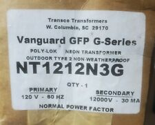 Transco Neon Transformer Nt1212Ng3 Vanguard Gfp G Series Pri 120 Sec.V.12,000