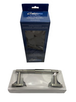 Toilet Paper Tissue Holder Bathroom Satin Nickel Standard Gatco Elevate (2 Pack)