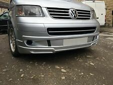 VW Caravelle Front Add-on, Skirt, Spoiler, Valance 2003-09 Pre Facelift, UK Made
