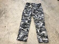 "Men's Grey-Camo with kevlar Armoured Motorcycle Jeans W38 L32""R"