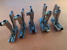 5 PAIRS DOUBLE TOE PIPING WELTING WALKING FOOT #42519X20T PFAFF 1245,335,545,145