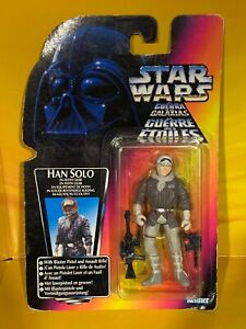Star Wars - Power of the Force - Han Solo in Hoth Gear (Tri-Logo)