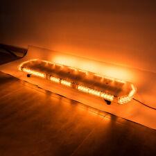 """48"""" 88 Led Emergency Strobe Light Bar Amber White Beacon Warning Tow Truck Plow"""