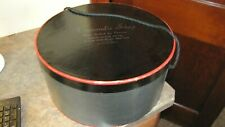 Vintage Black & Red Styled by Theone New York for Wide Brim Hat Storage Box