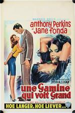 R152 TALL STORY Belgian '60 Anthony Perkins, early sexy Jane Fonda, basketball