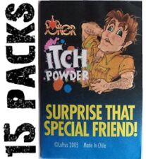 15 ITCH ITCHING Powder Packs -   Nasty Joke Magic Prank Gag Gift Set