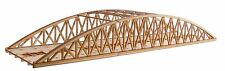 BR015 Twin Track Long Bowstring Rail Bridge OO Gauge Model Laser Cut Kit