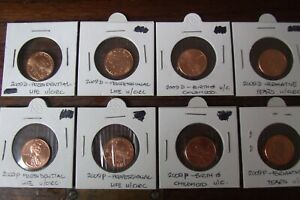 USA - 1 cent Lincoln Bicentennial Series (2009) U/C - Please Choose Coin Option