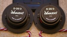 Dynaudio D28/2 Tweeters One working included a non-working