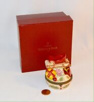 Villeroy and Boch Hinged Christmas Trinket Box with Lid 1748