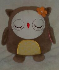 Cocalo Baby In The Woods Plush Owl Flower Soft Toy Pillow Decor