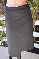 W-Lane Label Size 12 Black Asymmetric Hem Pencil SKIRT NEW rrp$69.99 Stretch NEW