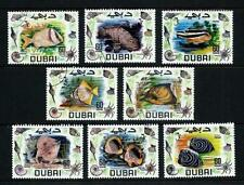 Fish Used Middle Eastern Stamps