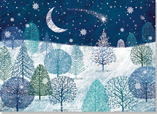 A Midnight Clear Deluxe Boxed Holiday Cards Christmas Cards, Holiday Cards,