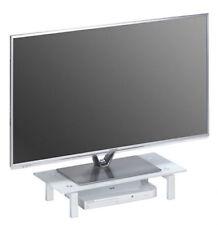 Meubles TV et solutions média blancs en métal pour la maison