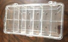 Dubbing Dispenser Box  Clear 12 Compartments (Empty)