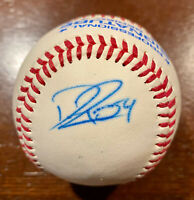DAVID RISKE Signed Baseball Cleveland INDIANS Boston RED SOX Autograph Ball