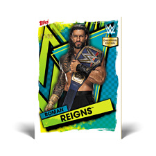 More details for topps slam attax 2021 champions edition roman reigns numbered to 100