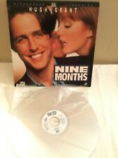 NINE MONTHS Widescreen Extended Play LaserDisc Movie