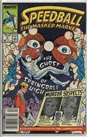 Speedball 1988 series # 4 UPC code fine comic book