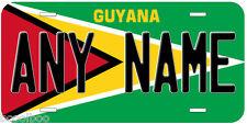 Guyana Flag Novelty Car License Plate
