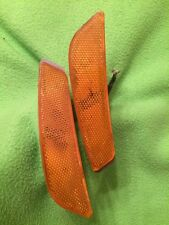 2003-2007 CADILLAC CTS CTS V FRONT BUMPER MARKER LAMPS (2) 25699380 25699094