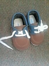 Blue and Brown Toddler Dress Shoes Size 9
