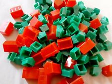 Monopoly Houses & Hotels Board Game Replacement Parts 140+ Plastic Crafts