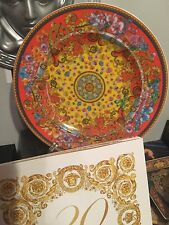 VERSACE PRIMAVERA SERVICE PLATE LIMITED 20 years celebrating wall NEW ROSENTHAL