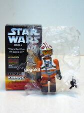 Medicom Star Wars Kubrick Series 6 Luke Skywalker X-Wing Pilot w/ Blaster Pistol