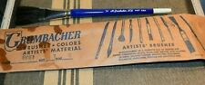 "Vintage M GRUMBACHER 6661 New York 1"" Artist Paint Brush UNUSED IN BAG"