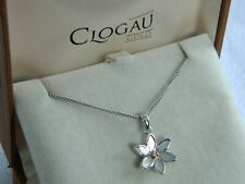 Clogau Sterling Silver & 9ct Rose Gold Lady Snowdon Pendant RRP £159.00