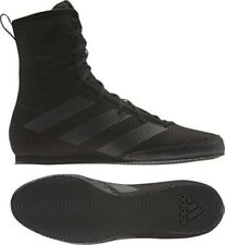 Adidas Box Hog 3 Boxing Boots Black Boxing Shoes Mens Womens Trainers Ring Fight