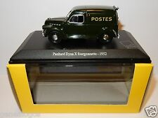 UH UNIVERSAL HOBBIES PANHARD DYNA X FOURGONNETTE 1952 POSTES POSTE PTT LUXE BOX