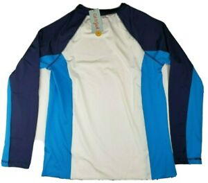 Cat & Jack Boys Long Sleeve Rash Guard Swim Shirt Size XL 16