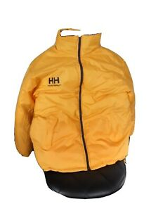 Helly Hansen Winterjacke Wendejacke Blau/Gelb Größe XL
