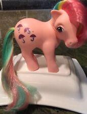 My Little Pony Vintage 1983 G1 Y2 MLP Parasol Rainbow Pony Pink Umbrella