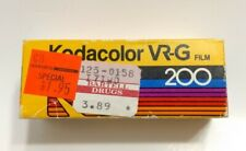 Kodak Kodacolor VR-G CB-127 Color Print Film ISO 200, Sealed, Exp. 1988