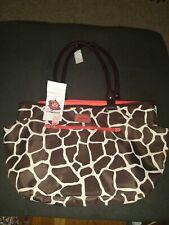 Carter's Large Giraffe Print Diaper Bag