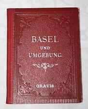 BASEL und UMGEBUNG, Verein der Basler Gastwirthe 1884, 1. AUFLAGE