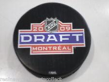 2009 NHL DRAFT SOUVENIR PUCK MONTREAL JOHN TAVARES BRAND NEW
