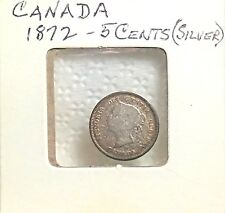 1872 CANADA 5-CENTS