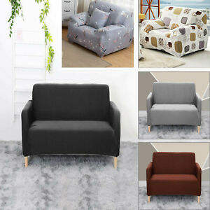 Sofa Covers 1 Seater Elastic Stretch Settee Slipcover Protector Couch durable