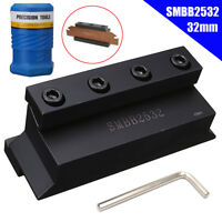 SMBB2532 Cut Off Tool Blade Holder Block + T-wrench For CNC Milling Cutter