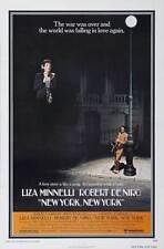 NEW YORK NEW YORK Movie POSTER 27x40 B Robert De Niro Liza Minnelli Lionel
