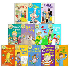 Oxford Reading Tree Floppy's Fun Phonics Biff's Wonder 12 Books Collection Set
