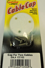Big Jon Downrigger Dashboard CC103 Parts Cable Cap Covers Two Wires