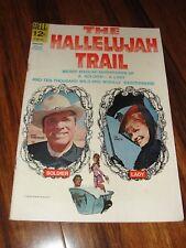 "DELL ""THE HALLELUJAH TRAIL"" MOVIE CLASSIC BURT LANCASTER LEE REMICK COMIC BOOK"